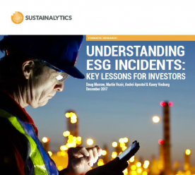 ESG incidents and value destruction: insights from the Sustainalytics incidents integration study